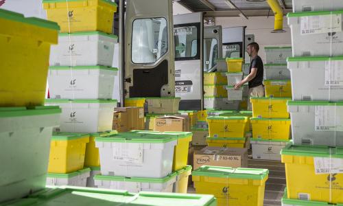 Les répartiteurs pharmaceutiques à l'œuvre pour la livraison des vaccins